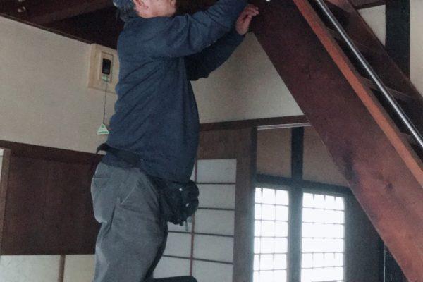 2019/6/15(土)高い所のお掃除作業