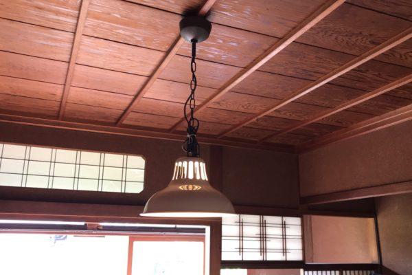 2020/08/4 (火) 金沢市 照明器具取付5点・ラック組立